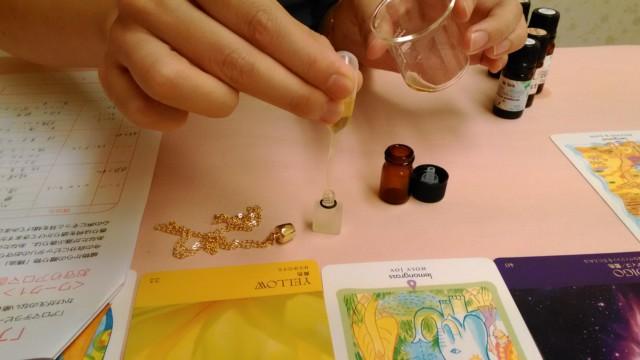 アロマ曼荼羅・香水作り